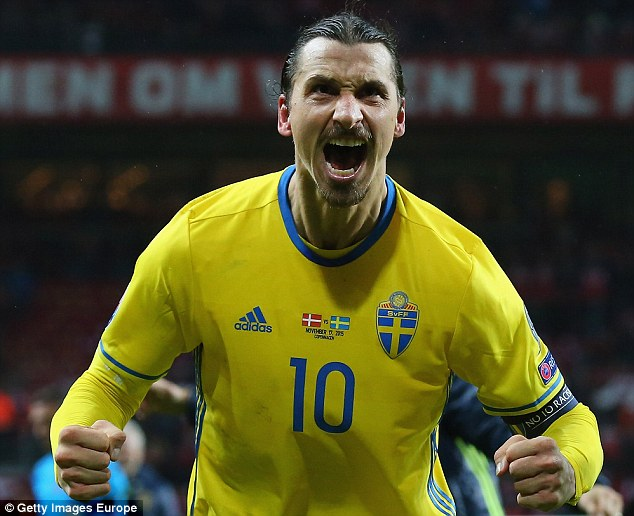 Zlatan Ibrahimovic has announced he will retire from international football after the European Championship