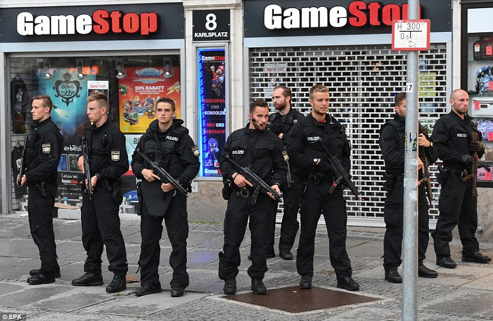 A second shooting has taken place near Marienplatz subway station, which is just four miles from the Olympic Park area