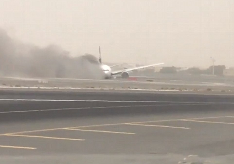 Emirates said the flight departed at 10.19am from Trivandrum International Airport and was scheduled to land at 12.50pm at Dubai International Airport