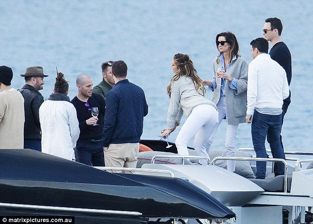 From Wings to Work! Delta Goodrem twerked up a storm on a yacht in Sydney last month in front of her new boyfriend, Drew Mitchell