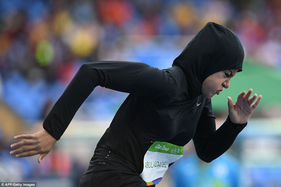 Rio 206 Sprinter Kariman Abuljadayel Is First Saudi Woman