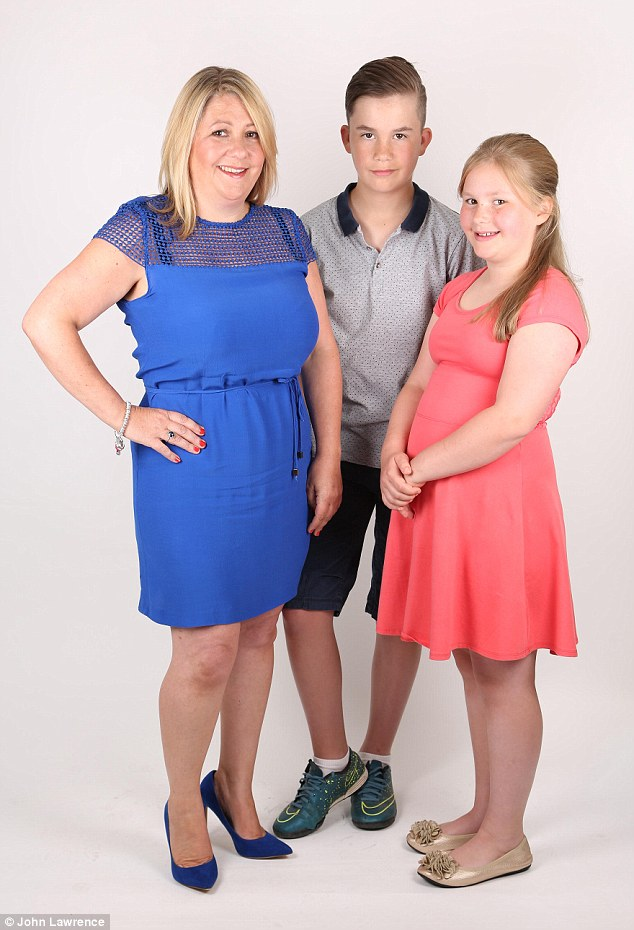 Kirsty Barr's children, Jake (12) and Maisy (10) are left home alone at the family's four-bedroom detached house in Buckinghamshire while their parents work