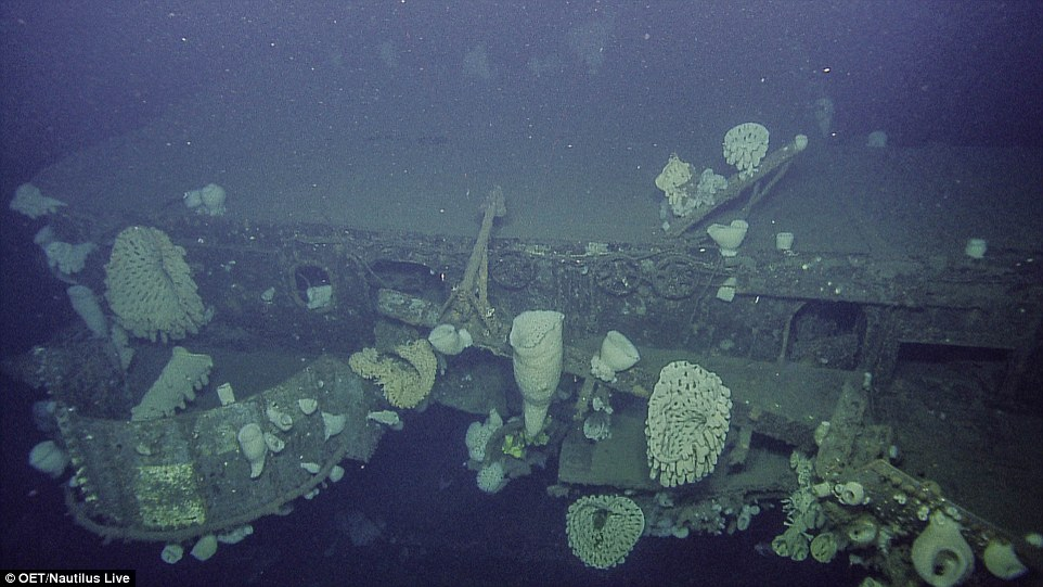 Seen On The Seabed After 60 Years Aircraft Carrier Uss