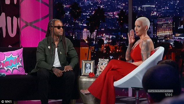 In agreement: Rose agreed with the rapper's assertion that a woman's number doesn't matter much