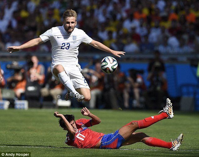 Allardyce's assistant Sammy Lee went to check on Shaw at the KCOM Stadium on Saturday