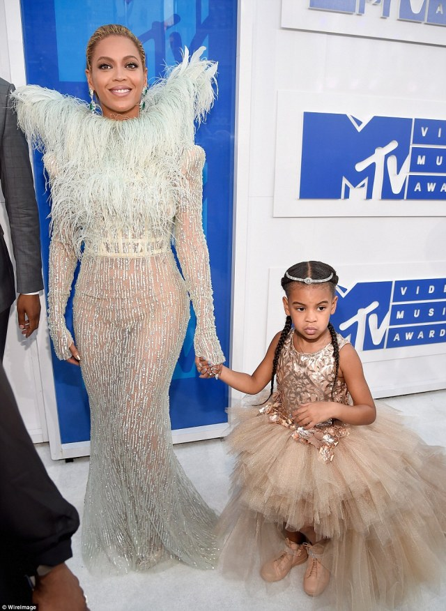 Tutu cute! Beyonce brought daughter Blue Ivy as her date to the awards show at Madison Square Garden in New York
