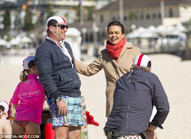 Karl Stefanovic In High Spirits On Bondi Beach With Today