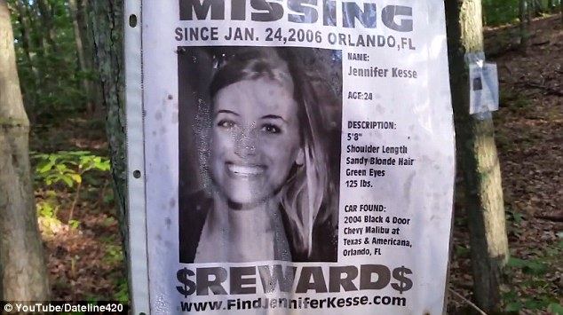 New York hiker finds \u0027shrine\u0027 to missing people in the woods in - missing person posters