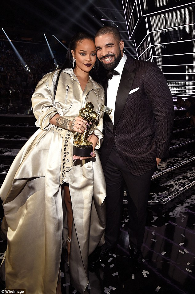 It's over:Drake and Rihanna (pictured August) have reportedly split with the rapper already moving on with someone new