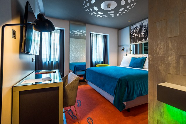 Prices start from€200 (£176) a night with each room full of the latest technology