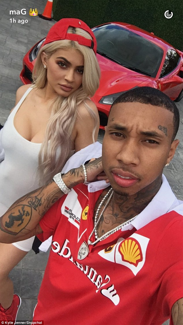 The race is on! Kylie Jenner and Tyga threw a Ferrari-themed birthday party for his son King Cairo on Sunday
