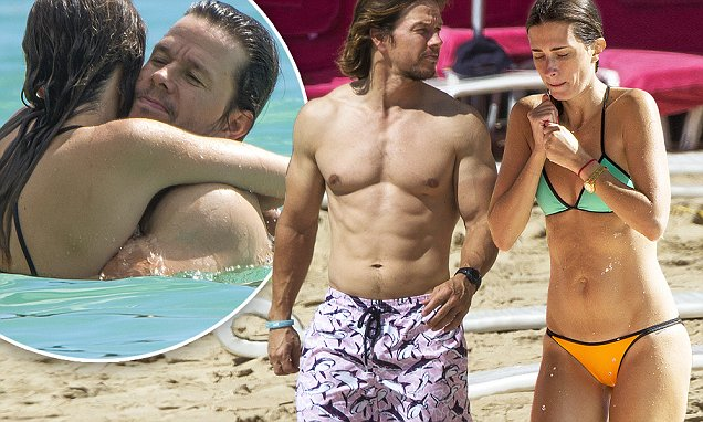 Mark Wahlberg And Wife Rhea Durham Show Off Their