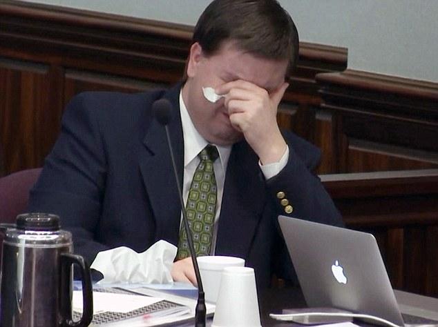 Justin Ross Harris breaks down as medical examiner describes death - medical examiner job description