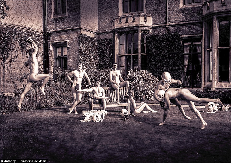 University Of Cambridge Athletes Strip Off In Risque Naked