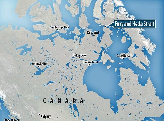 The sound has been heard in Fury and Hecla Strait, around 75 miles (120 kilometres) northwest of the hamlet of Igloolik