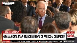 President Obama Giving Medal Of Freedom