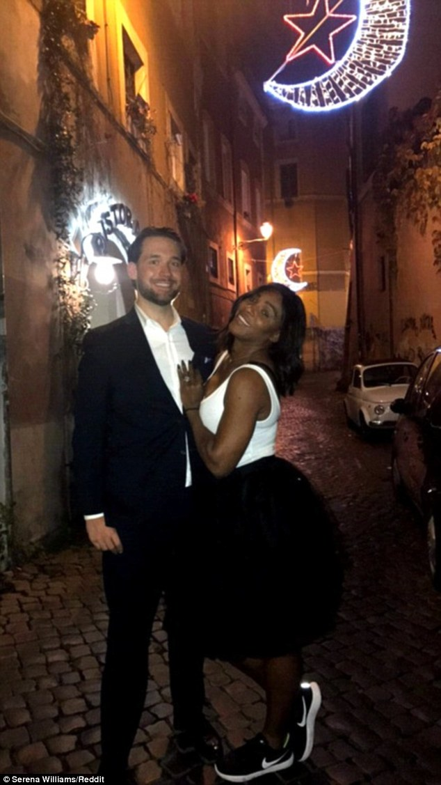 Serena Williams talks wedding plans with Alexis Ohanian Daily Mail - wedding plans