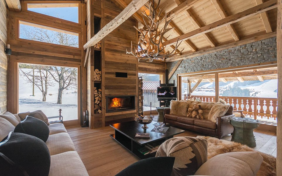 Sofas Around The World Inside This Season's New Luxury Hotel And Chalet Openings
