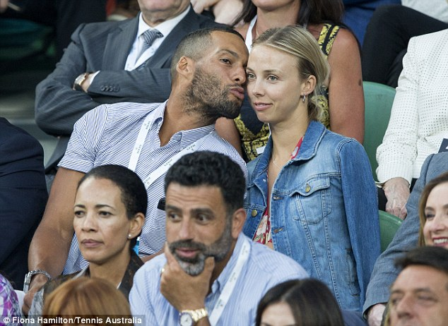 Josh Gibson puckers up to girlfriend Lucy Mack Daily Mail Online