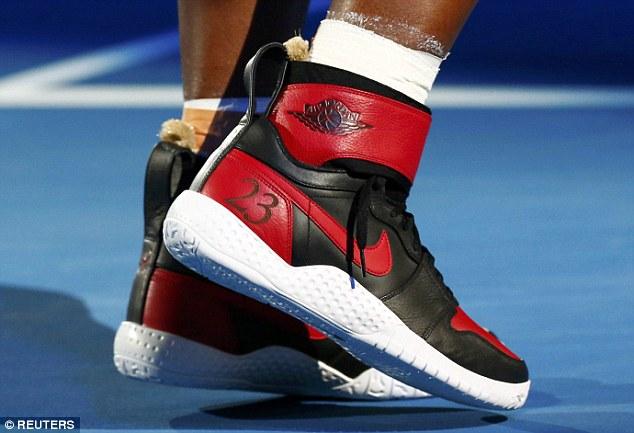 Serena Williams Celebrates Grand Slam No 23 With New Shoes