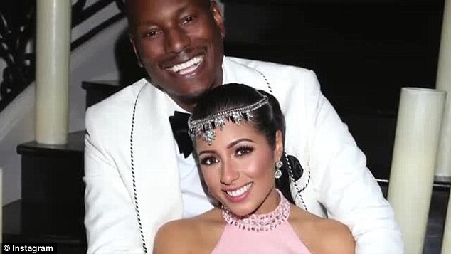 Tyrese gibson got secretly married on valentine s day