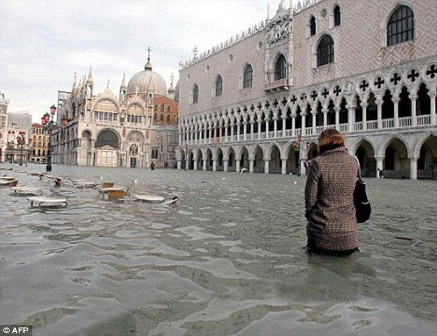 Venice could disappear within 100 years as sea levels rise Daily