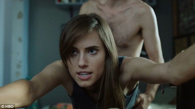 Taylor Gang Iphone Wallpaper Allison Williams Strips Off For X Rated Scene In Girls