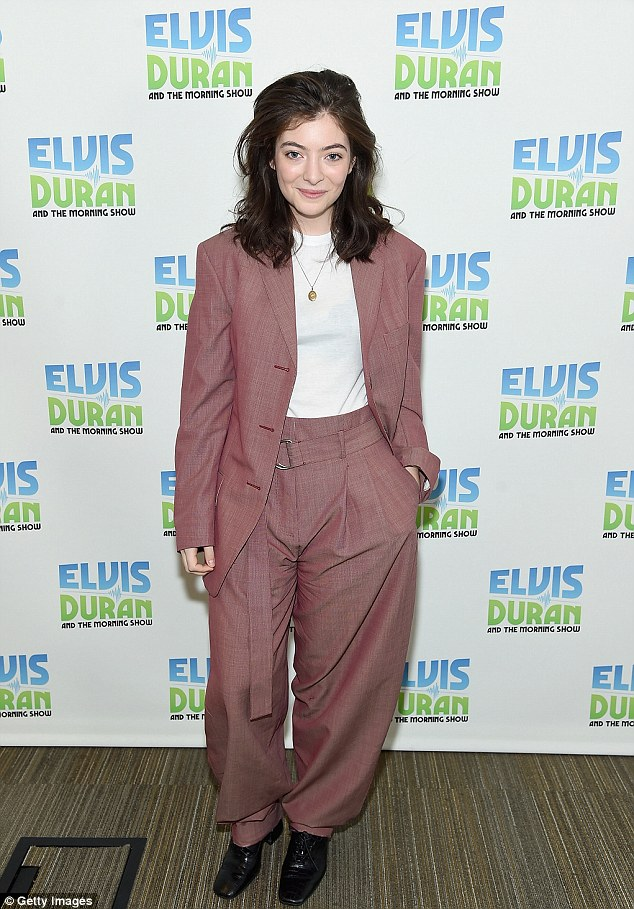 Lorde promotes new Melodrama album in New York Daily Mail Online