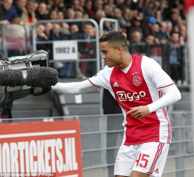 Patrick Kluivert's son Justin scores first senior goal   Daily Mail Online