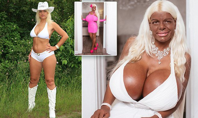 Martina Big Spends 50k On Boosting Her Breast To Size 32s