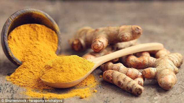 Turmeric helps improve bone density by up to 7 Daily Mail Online