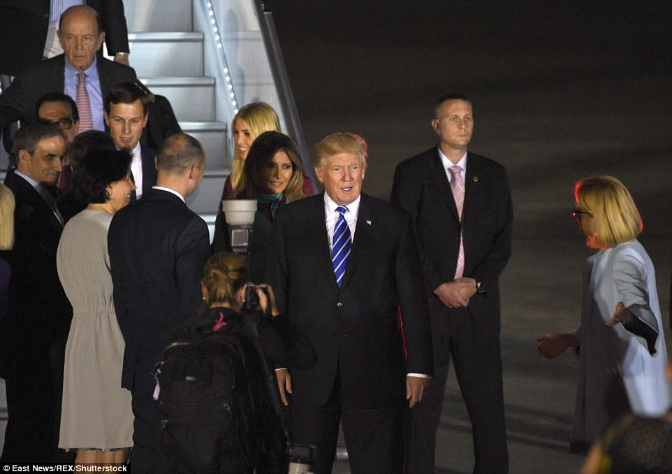Trump Is Welcomed In Warsaw Ahead Of Speech To Thousands
