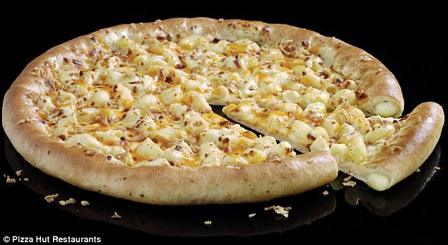 Pizza Hut launches pizza covered with macaroni cheese Daily Mail