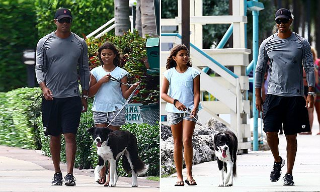 show a picture of tiger woods children 2019 pictures