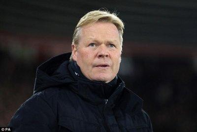 Everton will be ready to for Hajduk Split - Ronald Koeman | Daily Mail Online