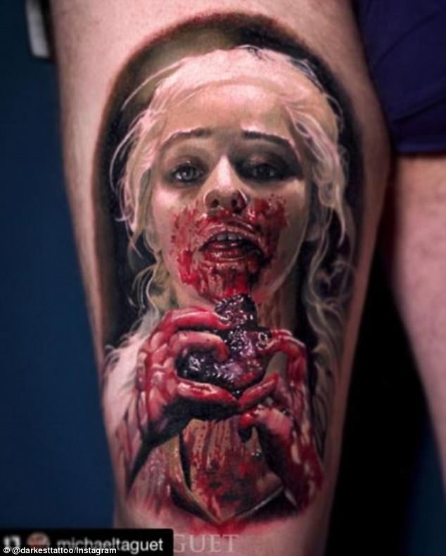 Creature Girl Wallpaper Game Of Thrones Fans Are Getting Tattoos Of The Series