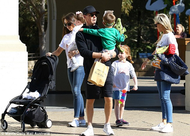 Roxy Jacenko Spends The Day At The Zoo With Her Family