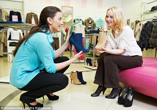 What the shoe shop assistant really thinks of you Daily Mail Online
