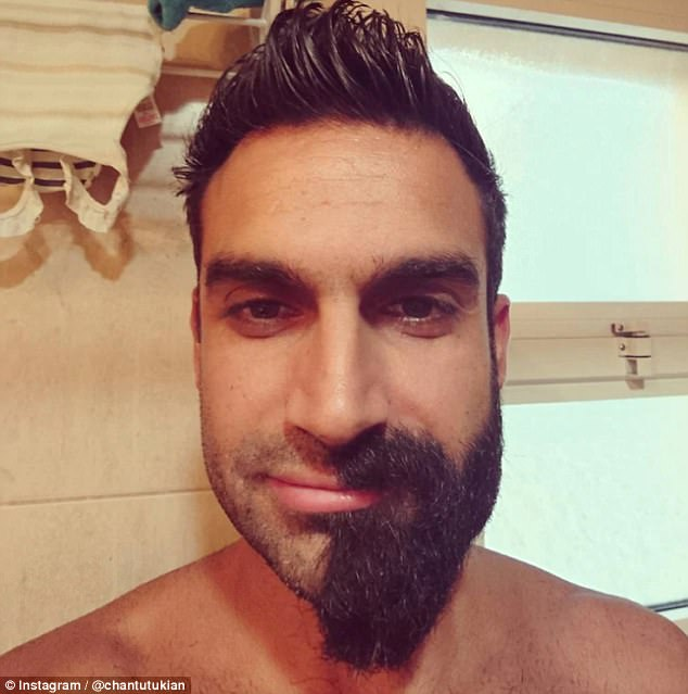 Men look unrecognisable after shaving off their beards Daily Mail