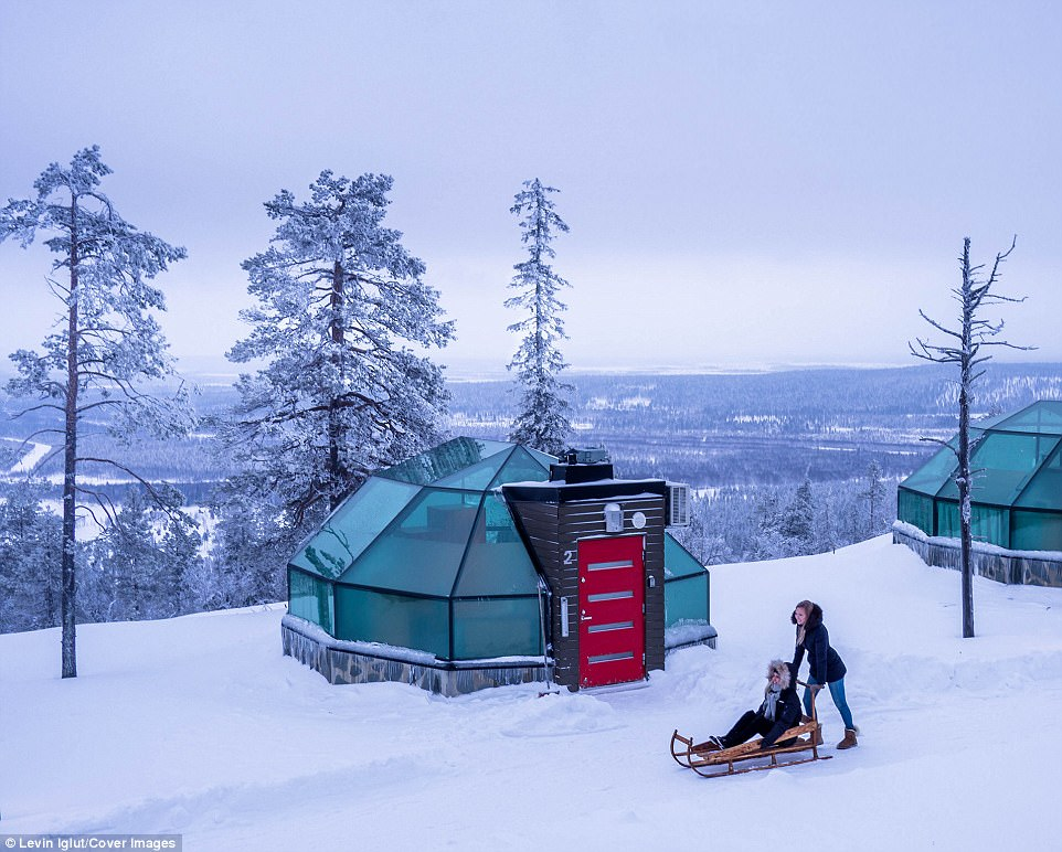 James Bond Car Wallpaper Lapland S Igloos Let Guests Star Gaze From Their Beds