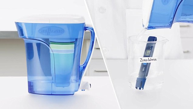 Ingenious test shows how powerful water filter jugs are Daily Mail