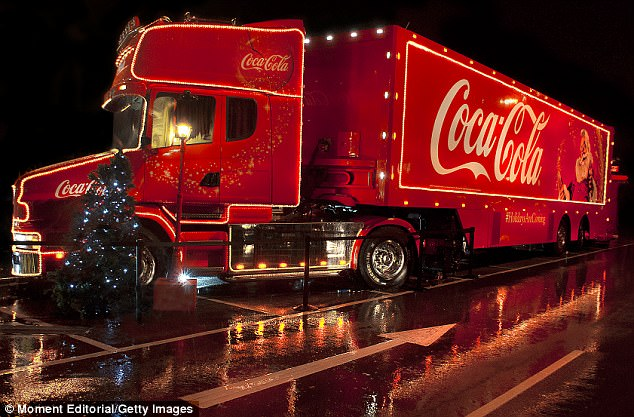 World Famous Car Wallpaper Coca Cola Truck Christmas 2017 Tour Dates Daily Mail Online