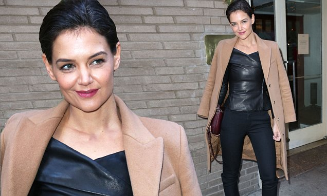 My How She39s Changed Katie Holmes Pulls Off Edgy Look