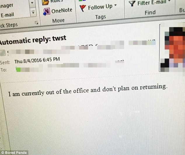 Online gallery captures hilarious resignation letters Daily Mail