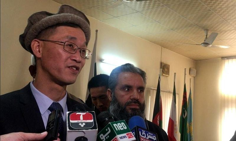 "Ambassador Yao Jing urged the need for the ""people of Pakistan to at least understand China"". — Photo by author"