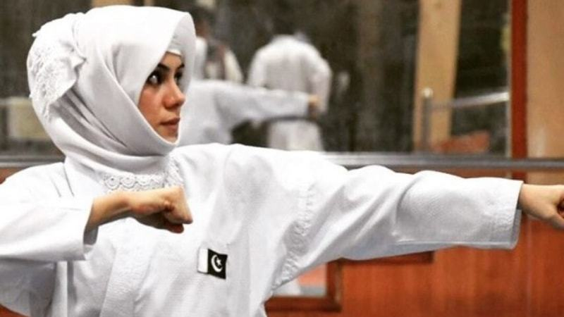 Karate became a way of pulling the young and quiet Kulsoom from her depression