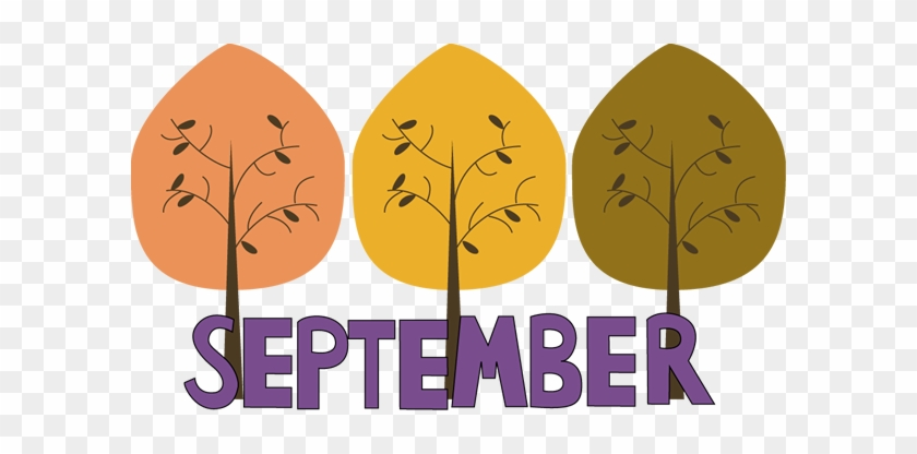 Download Free png Word Clipart September Fall September Clip Art