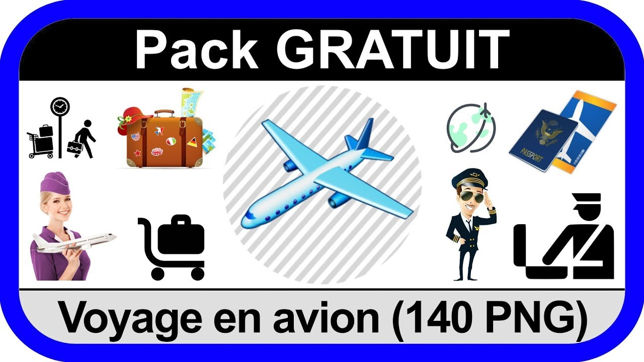 Voyage En Avion Download Free Png Pack Gratuit 140 Png Voyage En Avion Travel