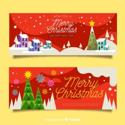 Christmas banner PNG - DLPNG