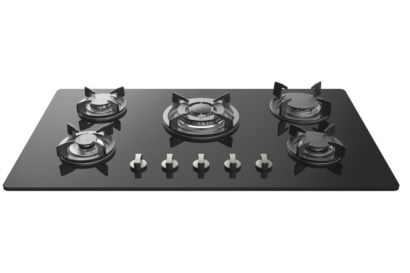 Cooktop Gas Stoves Empava 34 Quot Tempered Glass Built In 5 Burners Gas Cooktop